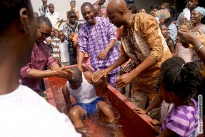 Philip Gets Baptized in Oshodi/Isolo Region