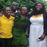 Heaven Rejoices as Omowale and Ololade Gets Baptized in Ibadan!