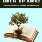BACK TO LIFE! A 40 – Day Bible Study Guide for Spiritual Growth